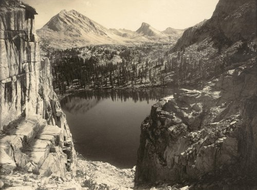 Marion Lake, Southern Sierra, from the portfolio Parmelian Prints of the High Sierras