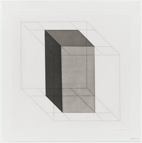 Forms Derived from a Cube, Plate #18