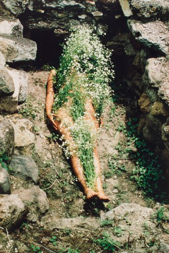 Imagen de Yagul, from the series Silueta Works in Mexico 1973-1977