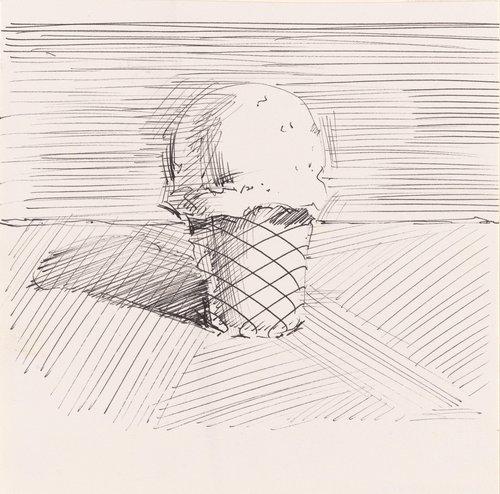 Untitled (Ice Cream Cone)
