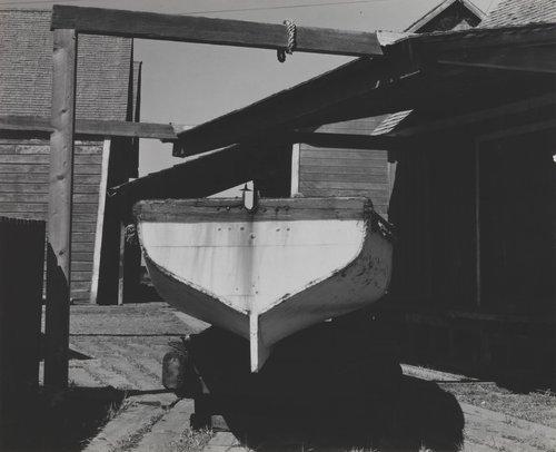 Boat at Mendocino City, California