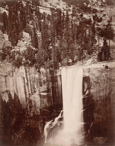 Pi-Wi-Ack (Shower of Stars), Vernal Fall, 400 Feet, Valley of Yosemite
