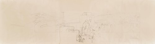 Untitled, study for the mural Pan American Unity, Golden Gate International Exposition, San Francisco