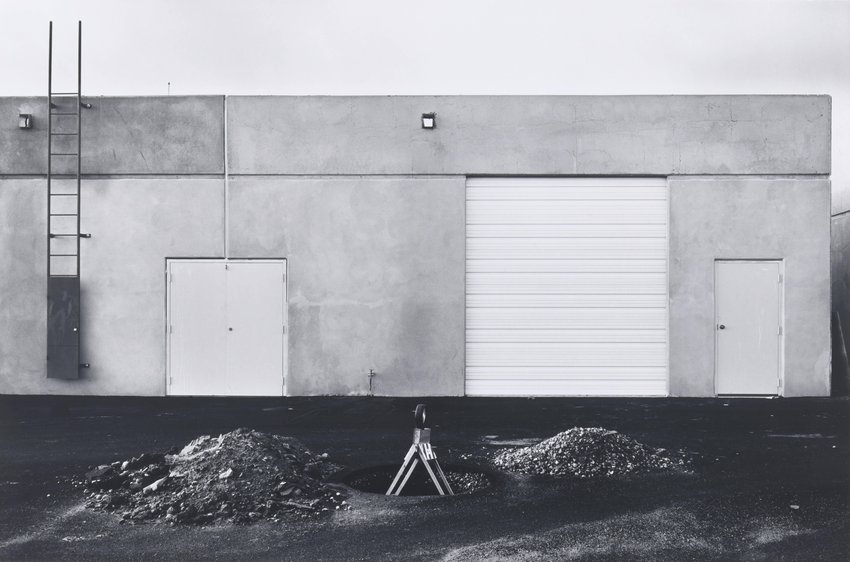 image of 'Road Construction, Airport Loop Drive, Costa Mesa, from the portfolio The New Industrial Parks near Irvine, California'