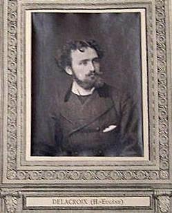 Henri-Eugéne Delacroix, from the publication Galerie Contemporaine