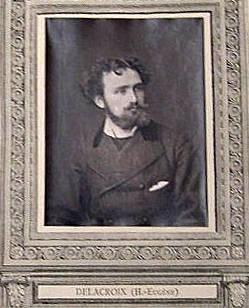Henri-Eugéne Delacroix, from the publication Galerie Contemporaine
