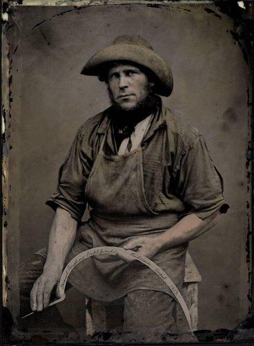 Samuel Renshaw, Sicklegrinder, Ridgeway, August 1857