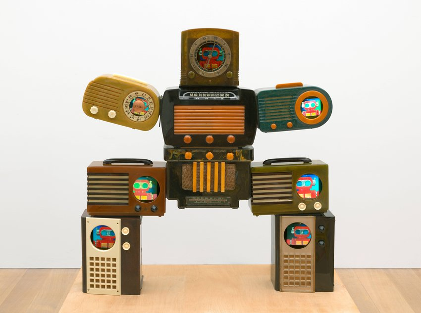 image of Untitled [Bakelite Robot]