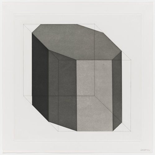 Forms Derived from a Cube, Plate #12