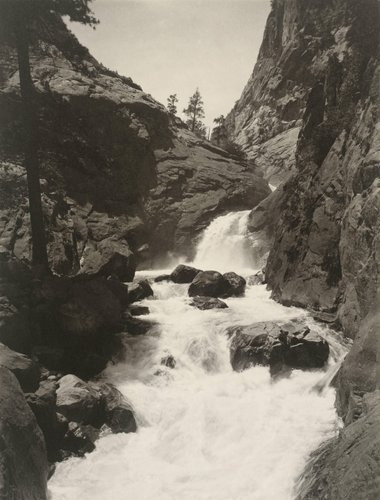 Roaring River Falls, Kings' River Canyon, from the portfolio Parmelian Prints of the High Sierras