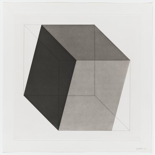 Forms Derived from a Cube, Plate #01