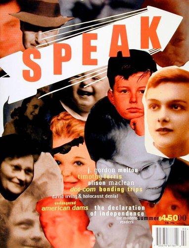 Speak 19, Summer 2000