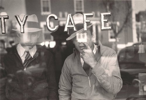 Men Inside a Cafe, Murfreesboro, Tennessee