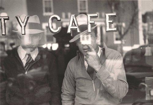 Men Inside a Cafe, Murfreesboro, Tennessee