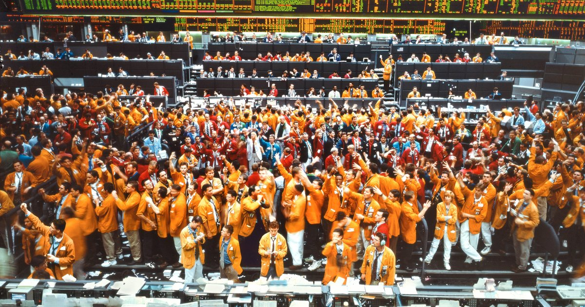 Andreas Gursky, Chicago Mercantile Exchange (1997)