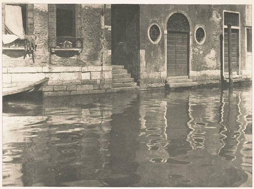 Reflections—Venice, from the portfolio Picturesque Bits of New York and Other Studies