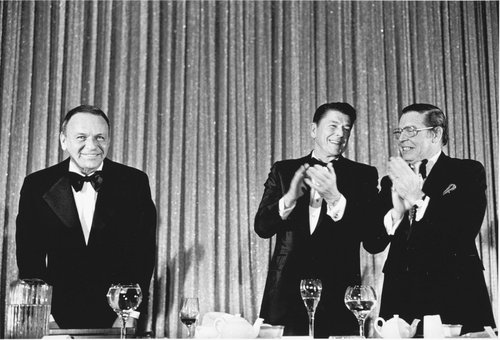 "Frank Sinatra, March of Dimes ""Man of the Year,"" Beverly Hills, California"