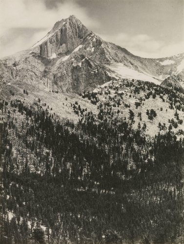 Mount Clarence King, Southern Sierra, from the portfolio Parmelian Prints of the High Sierras