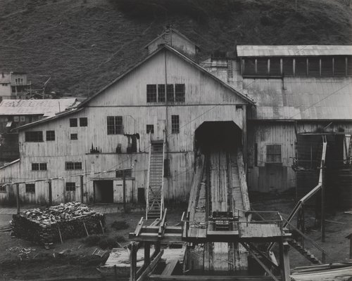 Old Lumber Mill at Albion, California