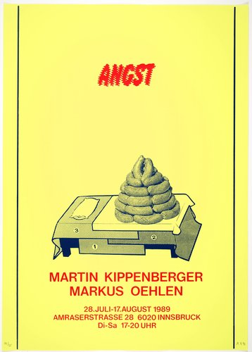 Angst (Fear), from the portfolio Mut zum Druck (Courage to Print)