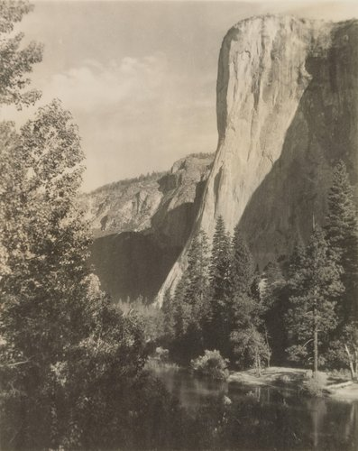 El Capitan, Yosemite Valley, from the portfolio Parmelian Prints of the High Sierras