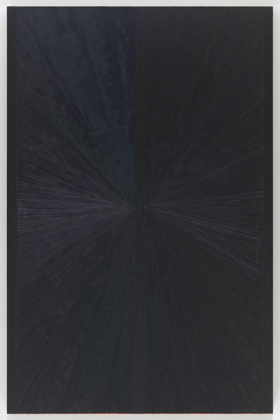 image of 'Untitled (Blue Butterfly Light to Dark I 651)'