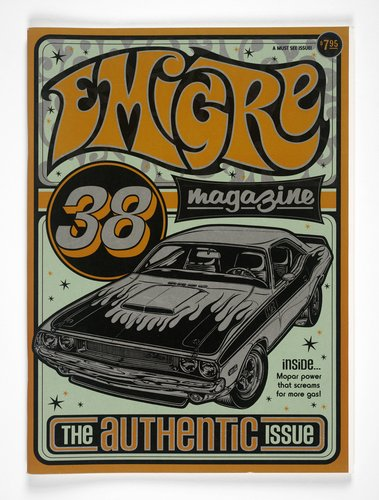 Emigre magazine, no. 38 (The Authentic Issue)