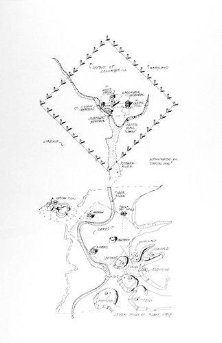 Capu Mundi, from the series Civilizing Terrains, 1989