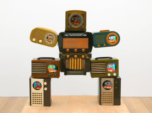 Untitled [Bakelite Robot]