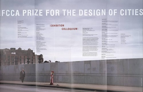 IFCCA Design of Cities Competition Announcement poster