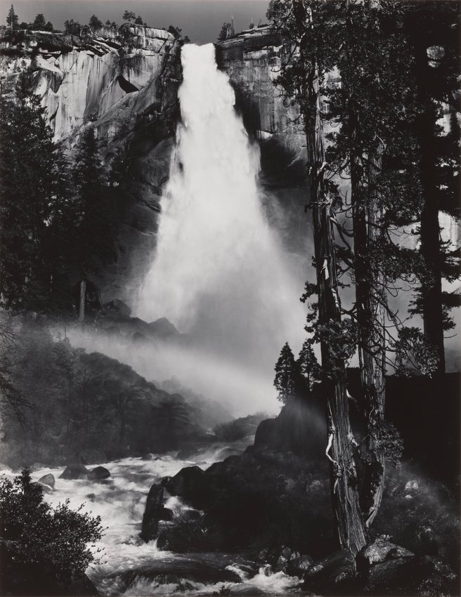 image of Nevada Fall, Rainbow, from Portfolio Three: Yosemite Valley