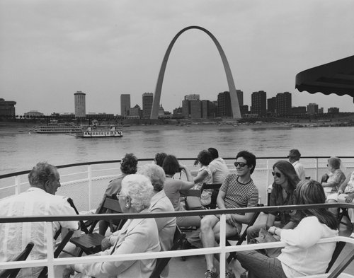 Untitled (St. Louis Arch), from the portfolio Leisure