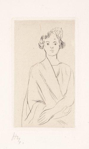 Jeune femme au peigne espagnol (Young Woman with Spanish Comb)