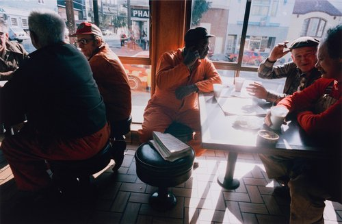 San Francisco, California, 24th & Church Street, Happy Donut Shop, from the portfolio Analog Days