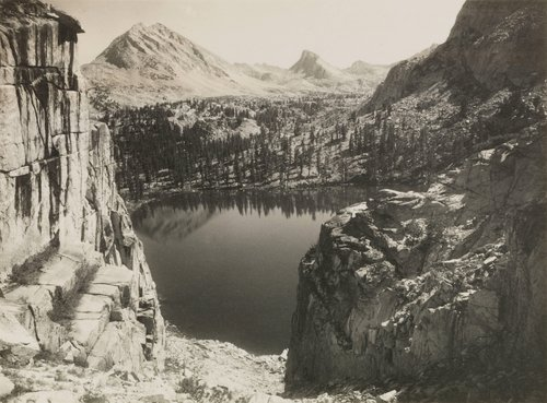 Marion Lake, from the portfolio Parmelian Prints of the High Sierras