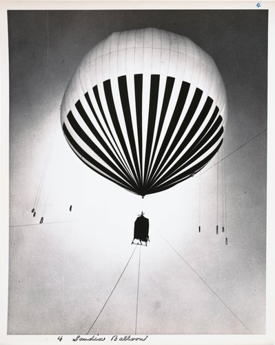 Atomic Tests in Nevada [Sandia balloon]