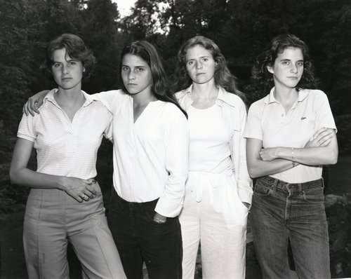 The Brown Sisters, New Canaan, Connecticut