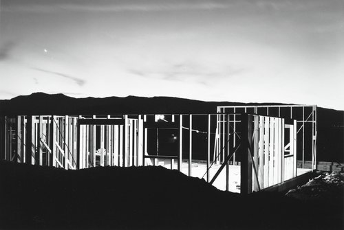 Night Construction, Reno, from the Nevada portfolio