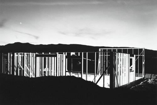 Night Construction, Reno, from the Nevada portfolio