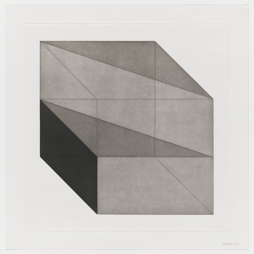 Forms Derived from a Cube, Plate #05