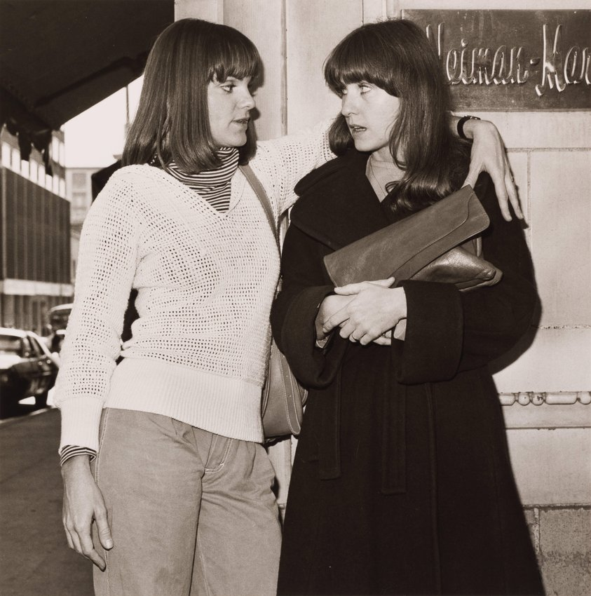 image of JoAnn Williams & Linda Dougall, from the portfolio, Siblings