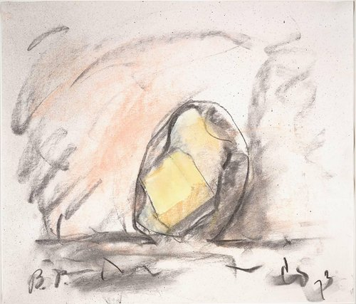 Study for a Garden Sculpture in the Form of a Thrown Baked Potato