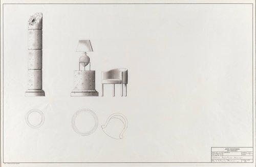 Office furniture designs for Mr. J. Patrick Mahoney