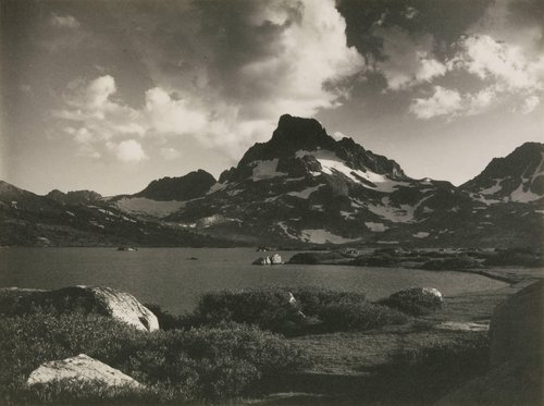 Banner Peak—Thousand Island Lake, from the portfolio Parmelian Prints of the High Sierras