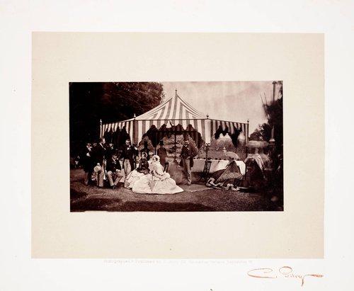 Untitled, from the album Orléans House Fête Champêtre, Juin 1864