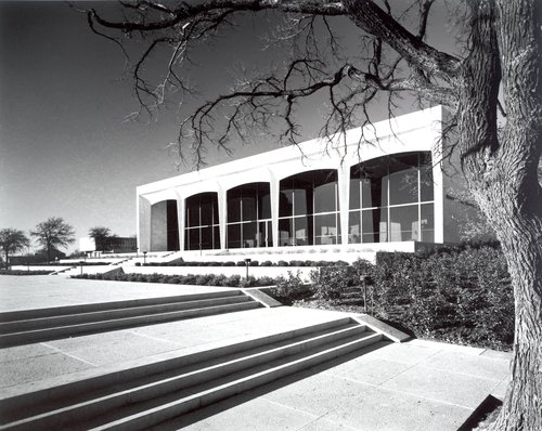 Philip Johnson, Amon Carter Museum of Western Art, Fort Worth, Texas, 1961