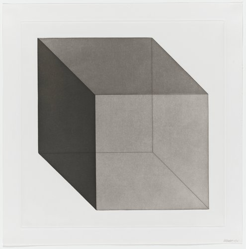 Forms Derived from a Cube, Plate #11