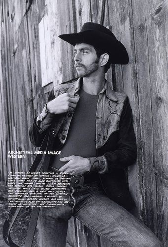 Archetypal Media Image, Western, from the series Gay Semiotics