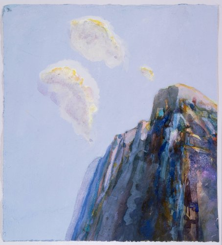 Untitled (Mountain and Clouds)