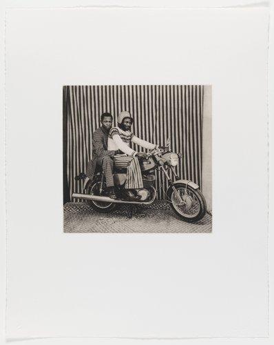 On the Motorbike in My Studio, from the portfolio Mali Twist